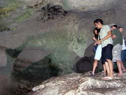 Bahama Caves of Early Inhabitants