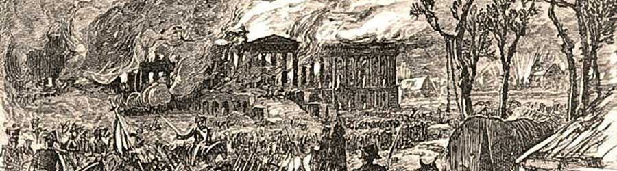 Burning of Washington DC - War of 1812